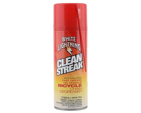 White Lightning Clean Streak Bicycle Chain Degreaser (12 fl. oz)