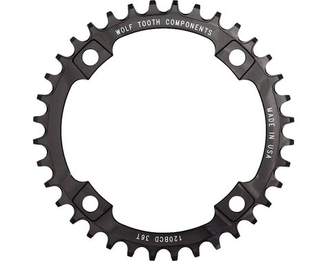Wolf Tooth Components Drop-Stop Chainring (120mm BCD) (36T)