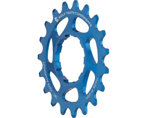 Wolf Tooth Components Single Speed Aluminum Cog (Blue) (19T)
