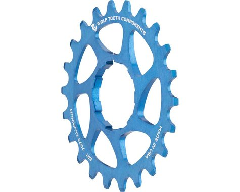 Wolf Tooth Components Single Speed Aluminum Cog (Blue) (22T)