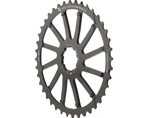 Wolf Tooth Components 40T GC cog for Shimano 11-36 (Black)
