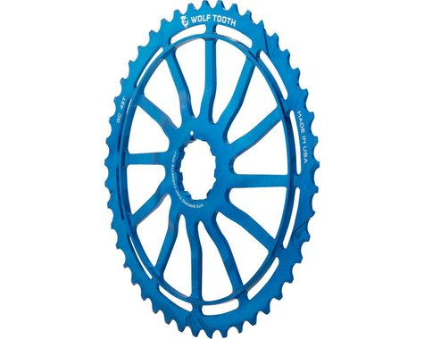 Wolf Tooth Blue GC45 with 18t and Spacer