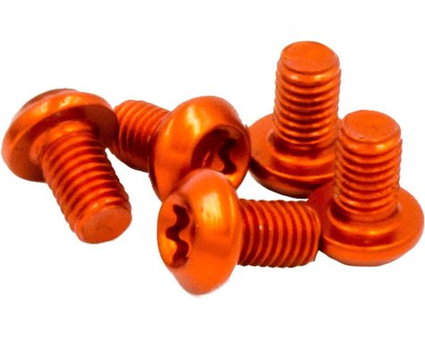 Wolf Tooth Components CAMO Chainring Bolt Kit (Orange)