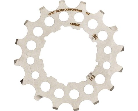 Wolf Tooth Components 16T Cog (Silver) (For Shimano or SRAM GC Cogs)