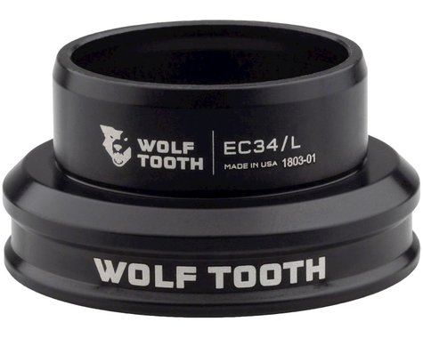 Wolf Tooth Components Lower Headset (EC34/30) (Black)
