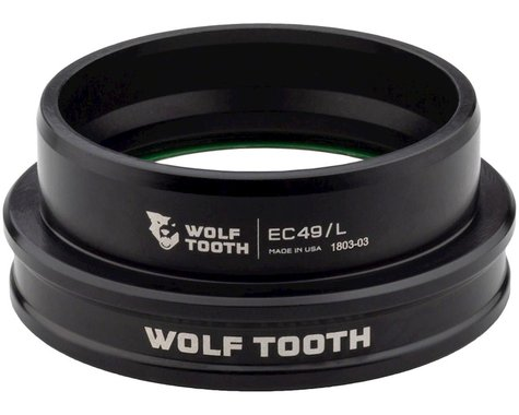 Wolf Tooth Components Lower Headset (EC49/40) (Black)