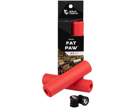Wolf Tooth Components Fat Paw Grips (Red)