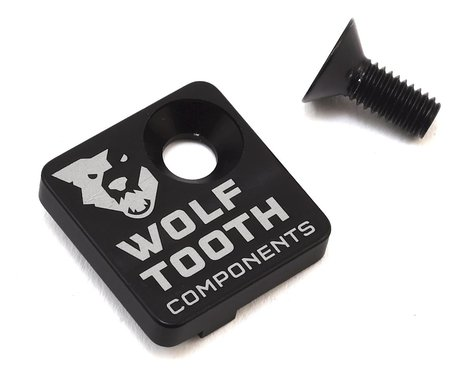 Wolf Tooth Components Direct Mount Front Derailleur Cover (Black/White)