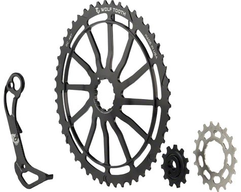 Wolf Tooth Components WolfCage Combo Pack (49T Cog & 18T Cog) (Derailleur Cage)