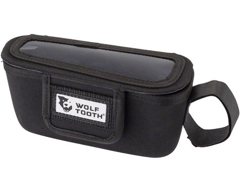 Wolf Tooth Components Mountain BarBag (Black) (Left)