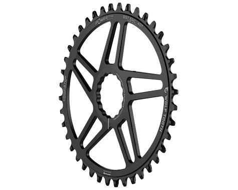 Wolf Tooth Components PowerTrac Drop-Stop Easton Direct Mount Chainring (Black) (Cinch) (40T)
