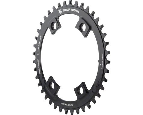 Wolf Tooth Components Drop-Stop Chainring (110mm Asym BCD) (Offset N/A) (38T)