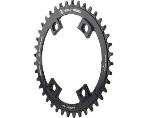 Wolf Tooth Components Drop-Stop Chainring (110mm Asym BCD) (Offset N/A) (40T)