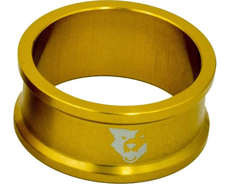 "Wolf Tooth Components 1 1/8"" Headset Spacers (Gold) (5) (15mm)"