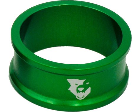 "Wolf Tooth Components 1 1/8"" Headset Spacers (Green) (5) (15mm)"