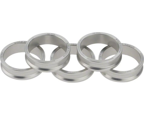 "Wolf Tooth Components 1-1/8"" Headset Spacer (Silver) (5) (10mm)"