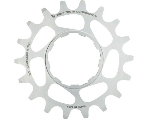 Wolf Tooth Components Single Speed Stainless Steel Cog (Silver) (20T)