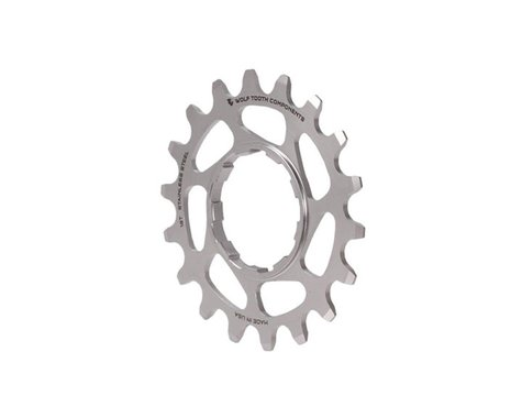 Wolf Tooth Components Stainless Steel Single Speed Cog (Silver) (18T)