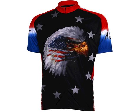 World Jerseys American Eagle Short Sleeve Jersey (Red/Black)