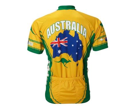World Jerseys Australia Short Sleeve Jersey (Yellow)