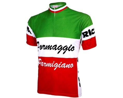 World Jerseys Formaggio Italia Short Sleeve Jersey (Green)