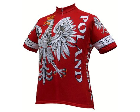 World Jerseys Poland Short Sleeve Jersey (Red)
