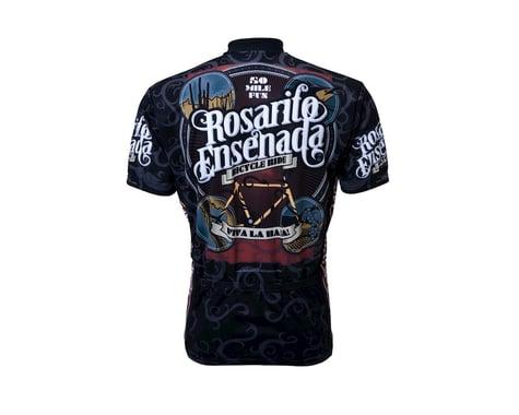World Jerseys Rosarito Viva La Baja Short Sleeve Jersey (Black)