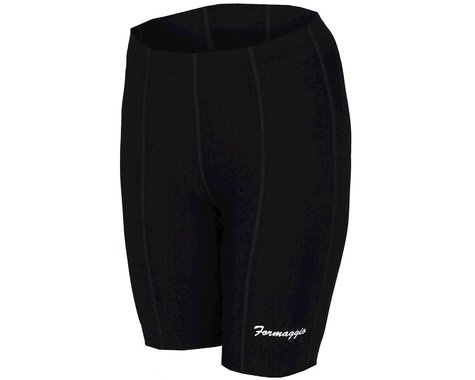 World Jerseys Women's Formaggio 8 Panel Shorts (Black)