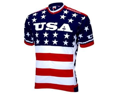 World Jerseys Team USA 1979 Short Sleeve Jersey (Red/White/Blue)