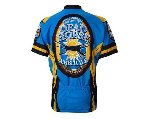 World Jerseys Moab Brewery Dead Horse Ale Short Sleeve Jersey (Blue)