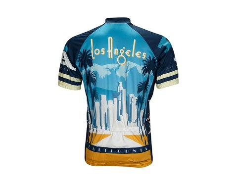 World Jerseys Los Angeles Short Sleeve Jersey (Blue)