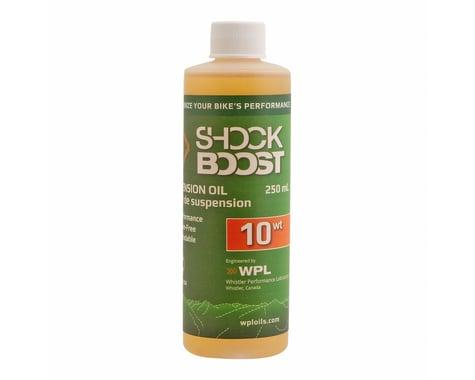 Whistler Performance ShockBoost 10 weight suspension oil (250ml)