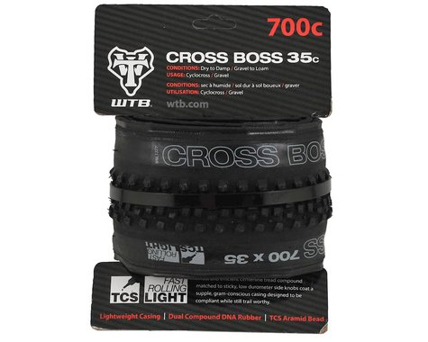 WTB Cross Boss TCS Tubeless Tire (Black) (700c) (35mm)