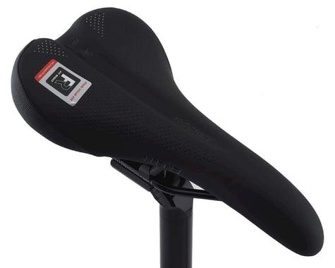 WTB Rocket Saddle (Black) (Steel Rails) (142mm)