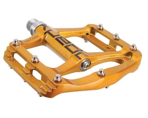 Xpedo Spry Magnesium Platform Pedals (Gold)