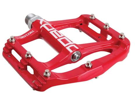 Xpedo Spry Magnesium Platform Pedals (Red)