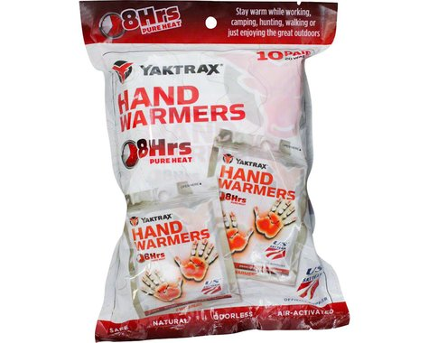 Yaktrax Warmers Hand Warmers (10 Pairs)