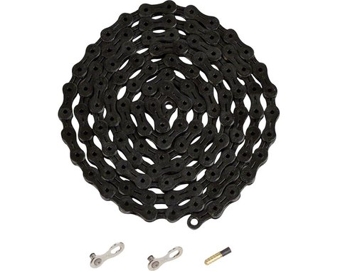 YBN Ti-Nitride Chain (Black) (10 Speed) (116 Links)