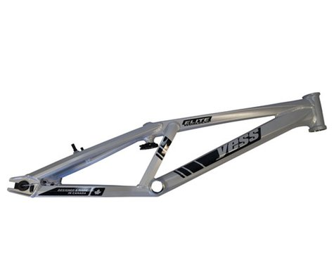 "YESS Elite Worldcup 20"" BMX Bike Frame (Silver) (Pro XL)"