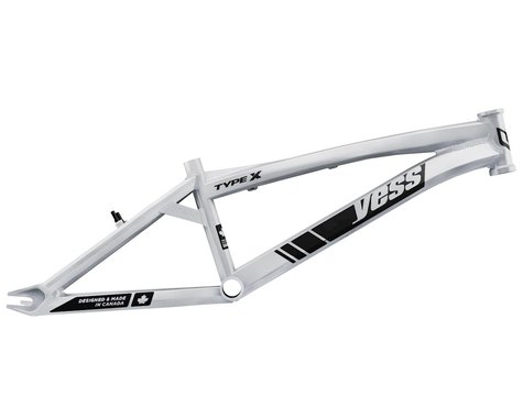 "YESS Type X 20"" BMX Race Frame (White) (Mini)"
