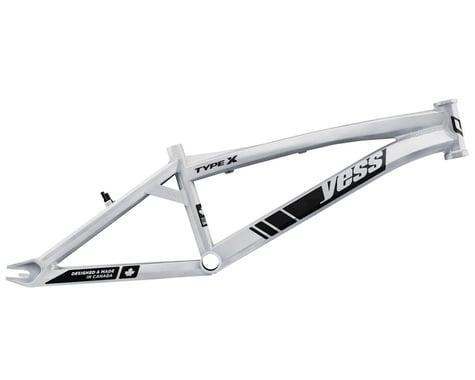 "YESS Type X 20"" BMX Race Frame (White) (Pro XXL)"
