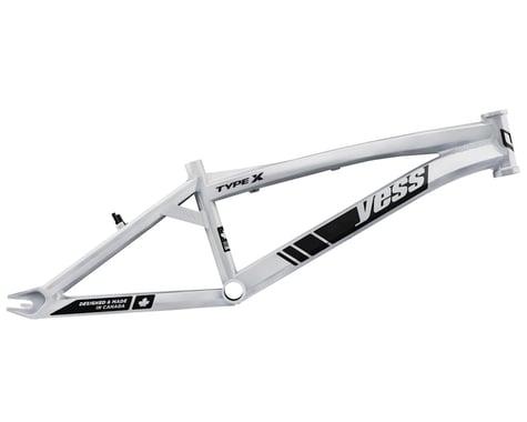 "YESS Type X 24"" Cruiser BMX Race Frame (White) (Pro)"