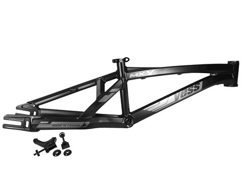 "YESS MX-Y 20"" Disc Brake BMX Race Frame (Charcoal) (Expert XL)"