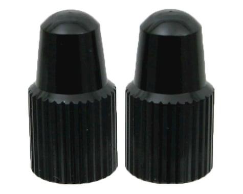 Yokozuna Alloy Presta Valve Caps (Black) (2)