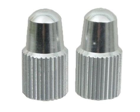 Yokozuna Alloy Presta Valve Caps (Silver) (2)
