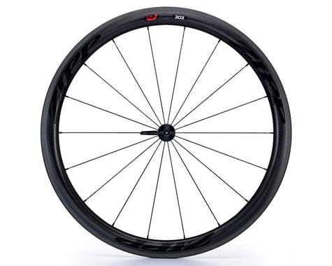 Zipp 303 Firecrest Carbon Clincher Front Wheel (Black Decal) (700c)