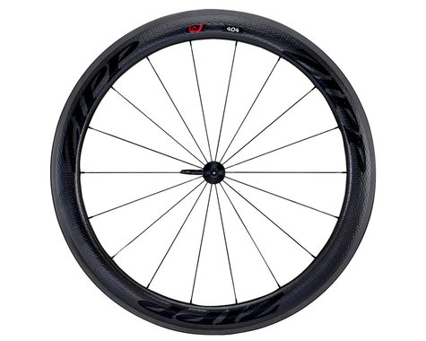 Zipp  404 Firecrest Carbon Clincher Front Wheel (Black) (Rim Brake)