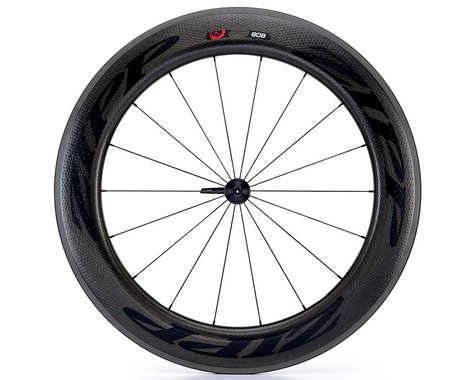 Zipp  808 Firecrest Carbon Clincher Front Wheel (Black) (Rim Brake)