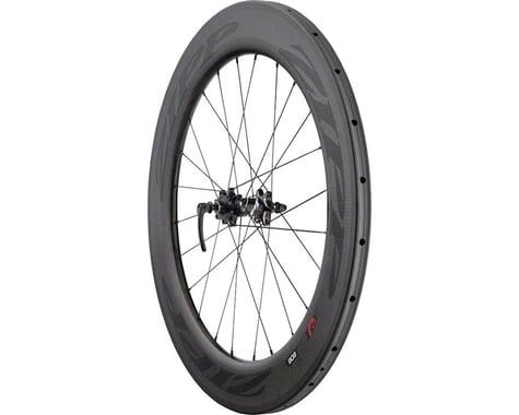 Zipp  808 Firecrest Carbon Tubular Front Wheel (Black) (Disc Brake)