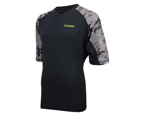 ZOIC DNA Camo Short Sleeve Jersey (Black/Grey)